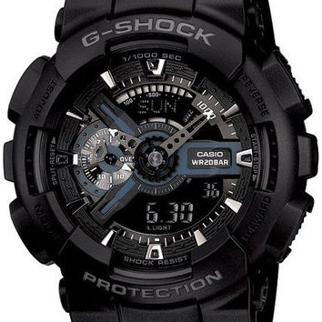 Casio G-Shock GA-110-1BCR Classic Military X-Large Black