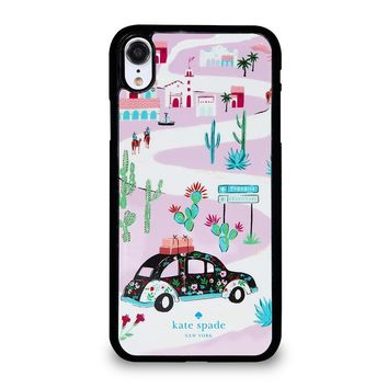 KATE SPADE NEW YORK ROAD TRIP iPhone XR Case Cover
