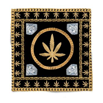 Gold Chains and Diamonds Bandana