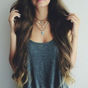 long hair | via Tumblr - image #2071747 by marky on Favim.com