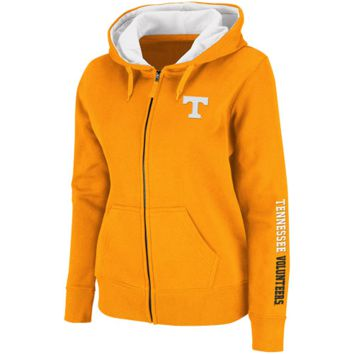 Tennessee Volunteers Ladies Tennessee Orange Titan Full Zip Hoodie Sweatshirt