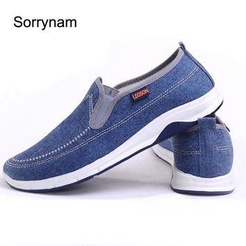 new Summer Men Canvas Casual Shoes size 7810