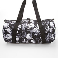 Abstract Floral Duffle Bag