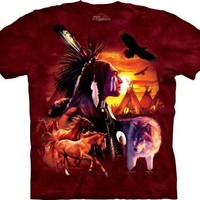 The Mountain Indian Collage Child T-shirt