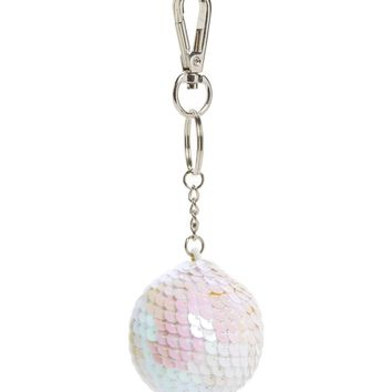 Topshop Sequin Ball Key Ring | Nordstrom