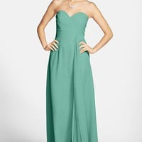 Faviana Sweetheart Chiffon Gown (Online Only) | Nordstrom
