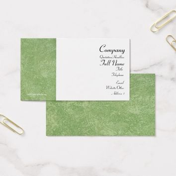 Marmarino Green Business Cards