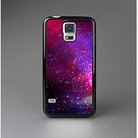 The Vivid Pink Galaxy Lights Skin-Sert Case for the Samsung Galaxy S5