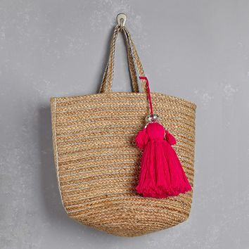 Shiraleah Tassel Tote Bag