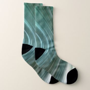 Glacier Green Driving Dreams Socks