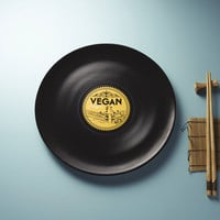 LONGPLATE – The First Vinyl-Inspired Porcelain Plate