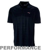 Cutter & Buck New England Patriots Sullivan Performance Polo - Navy Blue