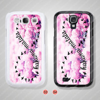 Infinity, HaKuNa MaMaTaTa, Samsung Galaxy S3 case, Samsung Galaxy S4 case, Cover Skin, Phone cases, Phone Covers - S0892