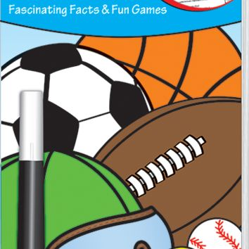 Sports Spectacular Invisible Ink Fascinating Facts & Fun Games