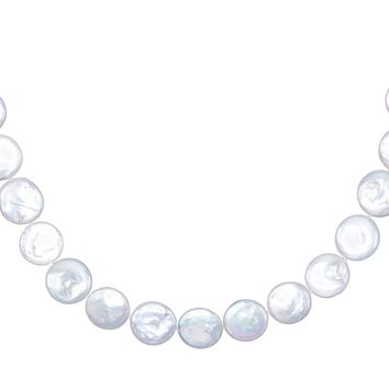 Pearl Disc Necklace