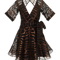 Tapis Mini Wrap Dress | Moda Operandi