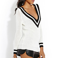 Daring V-Neck Sweater