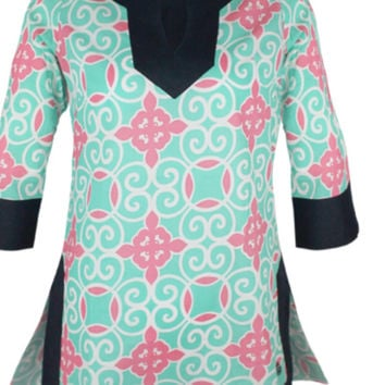 Simply Southern Tunic Swirly