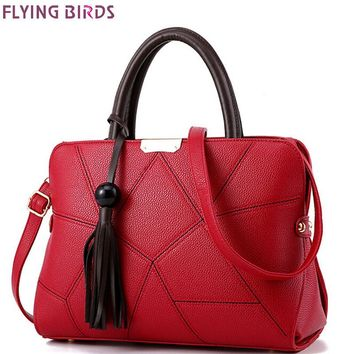 Flying Birds Womens Tassel Tote Messenger Cross Body Designer Patterned Handbag LM4069fb