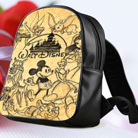Disney Collage Art 2 for Backpack / Custom Bag / School Bag / Children Bag / Custom School Bag **