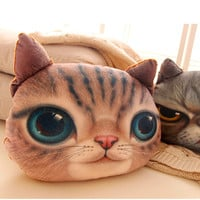 Cushions Home Decor Cartoon Decorative Cat Dog decorative pillows and Washable Waist Pillow Cute Seat  Kussens cojines sofa