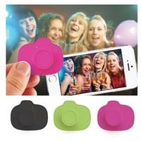 Selfie Snap Wireless Smartphone Camera Trigger For Apple And Android - Random Color