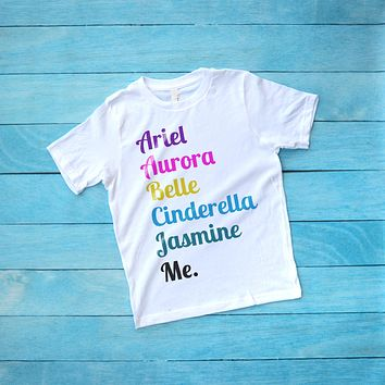 Girl's Disney Princess Shirt