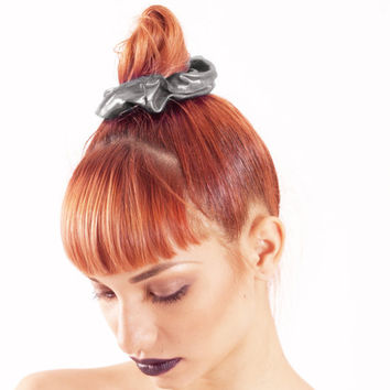 Metallic Scrunchie 80s Style Hair Accessories Retro Gifts