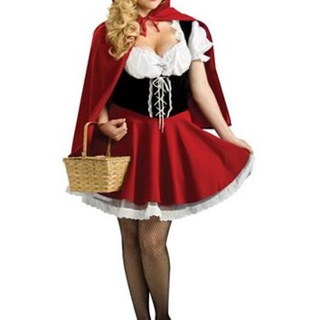 Costume little red riding hood