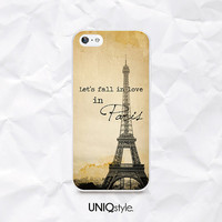 Vintage Paris phone case for LG g2, g3, g2 mini, nexus4, nexus5, LG L70 L90 - life quote love eiffel tower back cover case - N39