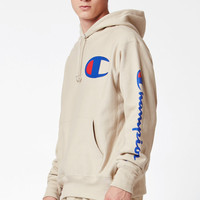 Champion Reverse Weave Tan Pullover Hoodie at PacSun.com