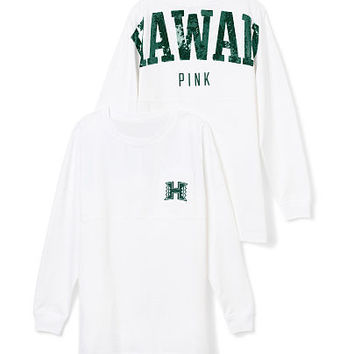 University of Hawaii Bling Varsity Crew - PINK - Victoria's Secret