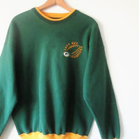 Vintage 1996 Green Bay Packer NFC Champs Sweatshirt Sz L