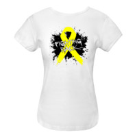 Endometriosis Fighting Back Women's Fitted T-Shirts