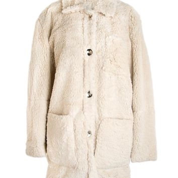 Opening Ceremony Sherpa Four Pocket Bern Coat