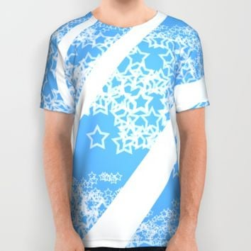Flowing Stars #1 All Over Print Shirt by PICTO