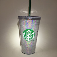 Starbucks Glitter Cold Cup 16 oz
