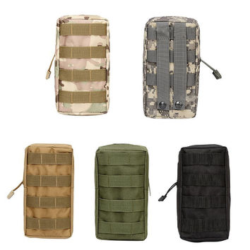 Service Bag Airsoft Sports Military Utility Tactical Vest Waist Pouch Bag