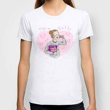Taco Belle T-shirt by Maura Creighton