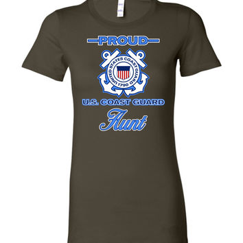 Proud U.S. Coast Guard Aunt Women's T-Shirt