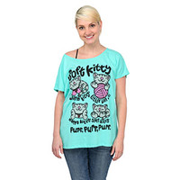 Soft Kitty Relaxed-Fit Ladies' Tee