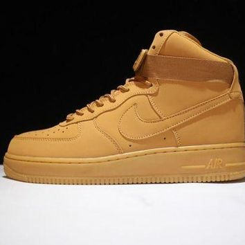 PEAPNW6 Originals Nike Air Force One 1 High Mid '07 LV8 FLAX 806403-200