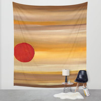 Wall Tapestry, Hanging Tapestry, colorful tapestry, Brown, yellow, red, abstract tapestry, Home décor, wall art, wall hanging,wall art décor