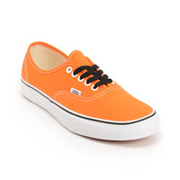 Vans Authentic Persimmon Orange & True White Shoes at Zumiez : PDP