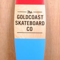 "GoldCoast 44"" Standard Red Longboard Complete"