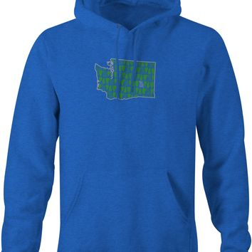 Woodsy WA Hoodie Royal Heather
