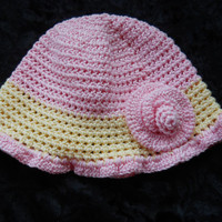 Summer hat, Child's Summer hat. Cotton Summer hat