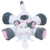 Nookums Paci-Plushies Cow - Universal Pacifier Holder
