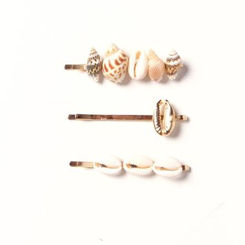 To Shell With It Barette Set