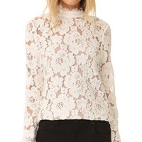 Berklin Lace Long Sleeve Top